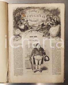 1840 ca Paul DE KOCK Sœur Anne - Romans Populaires Illustrés 96 pp. ill. BERTALL