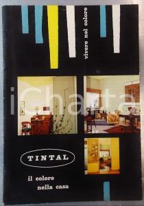 1960 ca MILANO Colorificio MAX MEYER - TINTAL il colore della casa 24 pp.