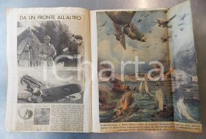1940 WW2 ANONIMO Rassegna stampa su eventi di guerra e novità librarie - 80 pp.