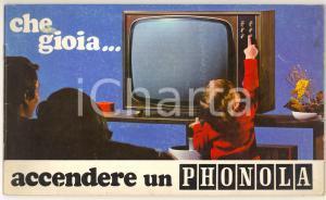 1968 MILANO FIMI - Radioricevitori e televisori PHONOLA - Catalogo ILLUSTRATO