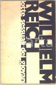 1978 NAPOLI Wilhelm REICH Lotte sessuali dei giovani - 93 pp. RARO