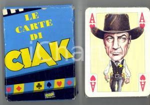 1990 LE CARTE DI CIAK - Mazzo pubblicitario - MODIANO TRIESTE