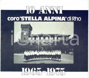 1975 RHO (MI) 10 anni Coro