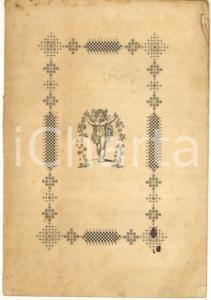 1868 LUCCA Canzone di Francesco Petrarca col comento di Luigi de' Marsili