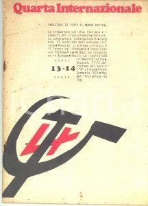 1974 QUARTA INTERNAZIONALE Stalinismo in America Latina - Rivista