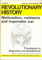 1989 REVOLUTIONARY HISTORY Trotskyism in Argentina and Scandinavia - n°2
