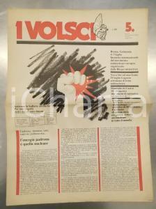 1978 ROMA I VOLSCI Settimana di lotta antinucleare - Mensile anno I numero 5