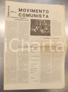 1980 AUTONOMIA OPERAIA per il MOVIMENTO COMUNISTA Dal carcere - Numero unico