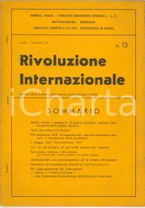 1978 RIVOLUZIONE INTERNAZIONALE Italia: dopo Moro e le elezioni - n° 13