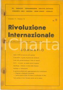 1978 RIVOLUZIONE INTERNAZIONALE Italia: il PCI al soccorso del capitale - n° 11