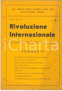 1977 RIVOLUZIONE INTERNAZIONALE Senza voce i tenori del Lirico? - n° 9