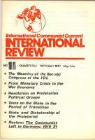 1977 ICC INTERNATIONAL REVIEW Second Congress of the ICC - n° 6