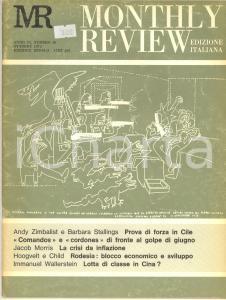 1973 MONTHLY REVIEW Golpe in Cile - Lotta di classe in Cina? - Rivista n° 10