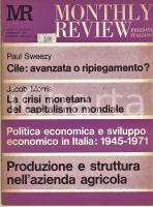 1972 MONTHLY REVIEW Politica economica in Italia 1945-1971 - n° 2