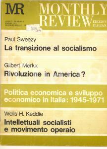 1972 MONTHLY REVIEW Rivoluzione in America? - Rivista n° 3