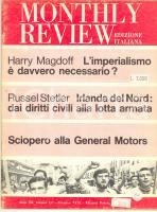 1970 MONTHLY REVIEW Sciopero alla General Motors - Irlanda del Nord - n° 12