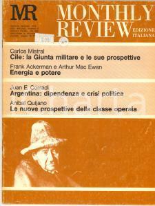 1974 MONTHLY REVIEW Cile: la Giunta militare e le sue prospettive - n° 2