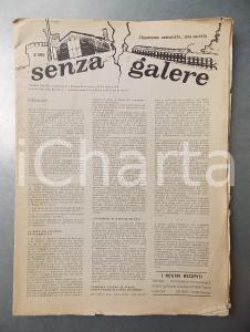1978 SENZA GALERE Lotta politica e carceri speciali - Giornale n. 2-3