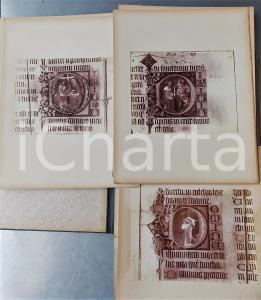 1920 ca The BURY ST. EDMUNDS Psalter manuscript  - Album of original photos 25x32