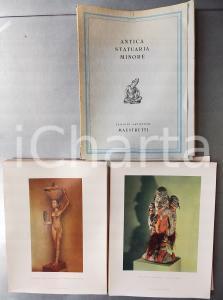 1960 AA.VV. Antica statuaria minore - Edizioni Artistiche MAESTRETTI 96 tavole