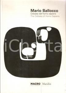 2010 ROMA - MACRO Mario BALLOCCO Odissea dell'Homo Sapiens *Ed. MARSILIO con DVD