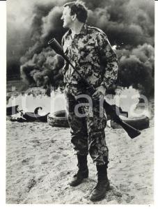 1970 ca SUDAFRICA Guerra di Indipendenza - Soldato impugna un fucile *Foto 13x18
