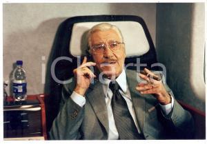 1998 INCONTRI PROIBITI Alberto SORDI fuma un sigaro*Foto CINEMA 20x13 cm