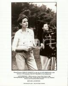 1996 LOVE SERENADE Director Shirley BARRETT and Mandy WALKER on the set *PHOTO