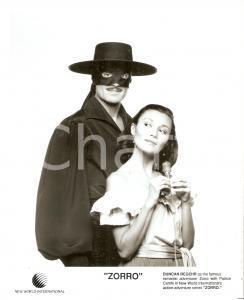 1990 ca ZORRO Duncan REGEHR and Patrice CAMHI - Portrait *Photo 20x25