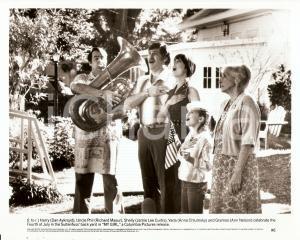 1991 MY GIRL Dan AYKROYD Jamie Lee CURTIS Anna CHLUMSKY celebrate July 4th *Foto