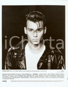 1990 CRY-BABY Johnny DEPP Portrait - Movie by John WATERS *Photo 20x25 cm