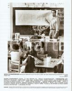 1990 KINDERGARTEN COP Arnold SCHWARZENEGGER teaches at school *Photo 20x25 cm
