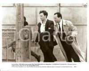 1990 BONFIRE OF THE VANITIES Tom HANKS Bruce WILLIS Movie by Brian DE PALMA Foto