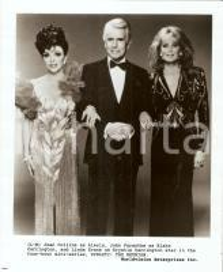 1991 DYNASTY: THE REUNION Joan COLLINS JOhn FORSYTHE Linda EVANS *Photo 20x25 cm