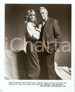 1991 DYNASTY: THE REUNION John FORSYTHE and Linda EVANS *Photo 20x25 cm