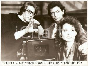 1986 THE FLY David CRONENBERG Jeff GOLDBLUM Geena DAVIS *Photo 24x17 cm