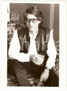 1985 ca CINEMA David CRONENBERG - Portrait of the director *Photo 17x24 cm