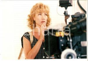 1999 GRAZIE DI TUTTO Nancy BRILLI sul set del film di Luca MANFREDI Foto 19x13