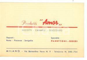1950 ca MILANO Prodotti