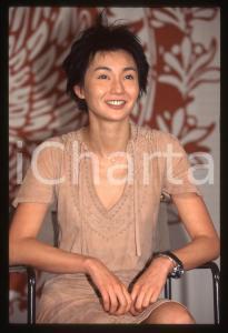 35mm vintage slide* 1997 VENEZIA Maggie CHEUNG L'attrice alla BIENNALE (1)