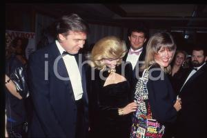 35mm vintage slide* 1988 NEW YORK 35th Anniversary PLAYBOY MAGAZINE Donald TRUMP