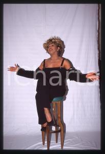 35mm vintage slide* 1990 ca COSTUME - Tina TURNER