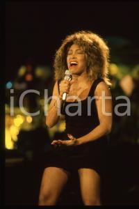 35mm vintage slide* 1990 FESTIVAL SANREMO - Tina TURNER (2)