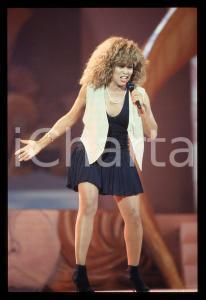 35mm vintage slide* 1990 FESTIVAL SANREMO - Tina TURNER (3)