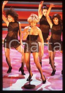 35mm vintage slide* 1996 FESTIVAL SANREMO - Tina TURNER (11)
