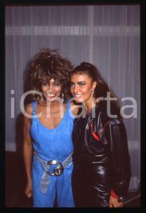 35mm vintage slide* 1984 COSTUME - Tina TURNER e Loredana BERTÈ