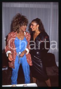 35mm vintage slide* 1984 COSTUME - Tina TURNER e Loredana BERTÈ (3)