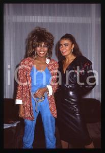 35mm vintage slide* 1984 COSTUME - Tina TURNER e Loredana BERTÈ (4)