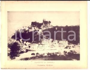1888 Ferrovia ROMA-SULMONA - Viadotto di CARSOLI - Stampa 20x16 cm