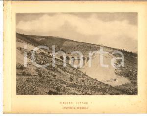 1888 Ferrovia ROMA-SULMONA - Viadotto GUTTARI - Stampa 20x16 cm